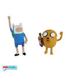 Adventure Time Action Figure - Finn E Jake