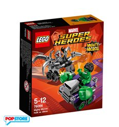 LEGO 76066 - Super Heroes Marvel - Mighty Micros - Hulk Contro Ultron