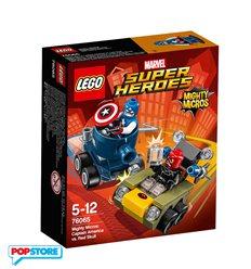 LEGO 76065 - Super Heroes Marvel - Mighty Micros - Capitan America Contro Teschio Rosso