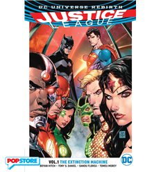 Dc Universe Rebirth - Justice League Tp 001