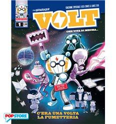 Volt - Che Vita Di Mecha 001 - C'era Una Volta La Fumetteria Variant Lucca 2016
