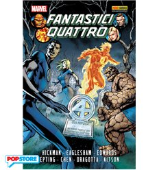 Marvel Omnibus - I Fantastici Quattro Di Jonathan Hickman 01 R