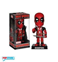 Funko Wobbler Wacky- Marvel - Deadpool Bobble Head