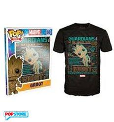 Funko Pop T-Shirt - Marvel - Groot - Xl