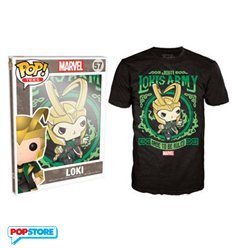 Funko Pop T-Shirt - Marvel - Loki - Xl