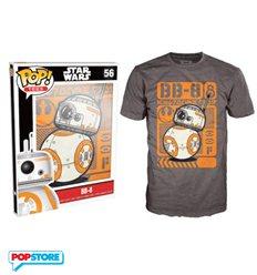 Funko Pop T-Shirt - Star Wars - Bb-8 - L