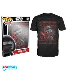Funko Pop T-Shirt - Star Wars - Kylo Ren - L