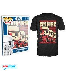 Funko Pop T-Shirt - Star Wars - Stromtrooper - L