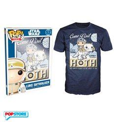 Funko Pop T-Shirt - Star Wars - Luke Skywalker Hoth - L