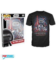 Funko Pop T-Shirt - Star Wars - Tfa Poster - S