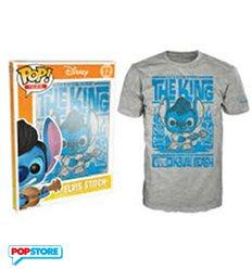 Funko Pop T-Shirt - Disney - Elvis Stitch - L