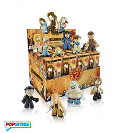 Funko Mystery Minis - The Walking Dead Serie 2 Display Set 24 Pezzi
