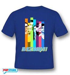 2Bnerd - The Big Bang Theory T-Shirt - The Big Bang Theory Bazinga Colors M