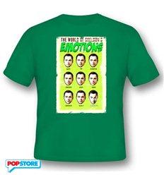 2Bnerd T-Shirt - The Big Bang Theory - World Of Sheldon'S Emotions S