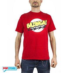 2Bnerd T-Shirt - The Big Bang Theory - Big Bang Theory Bazinga Red Xl