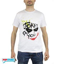 2Bnerd T-Shirt - Dc Comics - Batman - Joker Jokes On You M