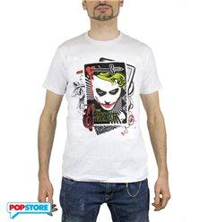 2Bnerd T-Shirt - Dc Comics - Batman - Joker Cards M