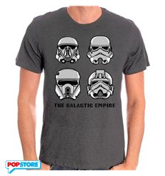 Cotton Division T-Shirt - Star Wars Rogue One - Galactic Empire L