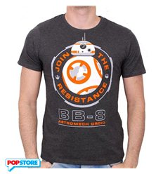 Cotton Division T-Shirt - Star Wars Episode Vii - Bb-8 Astromech Droid Xl