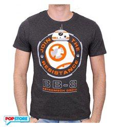 Cotton Division T-Shirt - Star Wars Episode Vii - Bb-8 Astromech Droid L