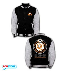 Cotton Division T-Shirt - Star Wars Episode Vii - Baseball Varsity Jacket Bb-8 L