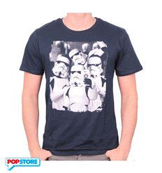 Cotton Division T-Shirt - Star Wars - Trooper Band Selfie L
