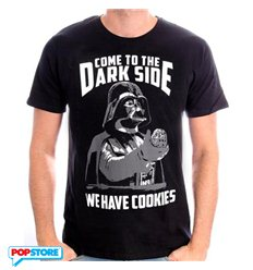 Cotton Division T-Shirt - Star Wars - Come To The Dark Side S