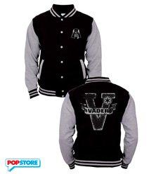 Cotton Division T-Shirt - Star Wars - Baseball Varsity Jacket Darth Vader M