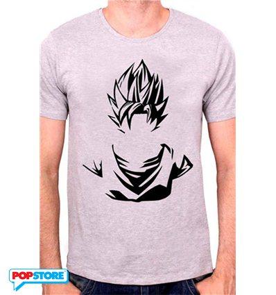Cotton Division T-Shirt - Dragonball Z - Silhouette Sayan S