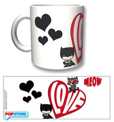 2Bnerd Gadget - Dc Comics - Batman Tazza Catwoman Meow