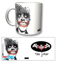 2Bnerd Gadget - Dc Comics - Batman Tazza Joker By Jock