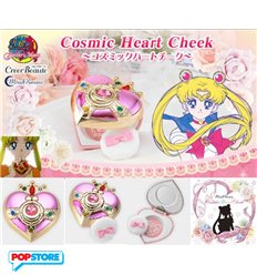 Bandai - Sailor Moon - Porta Cipria - Miracle Romance Cosmic Heart Cheek