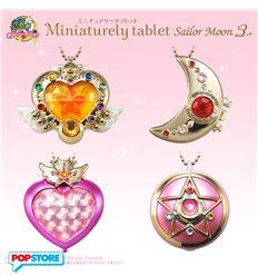 Bandai - Sailor Moon - Miniaturely Tablet V.3 - Espositore 10 Pezzi