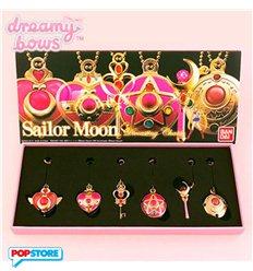 Bandai - Sailor Moon - Die Cast Charm Set Keychain In Metallo (Set 6 Pz.)