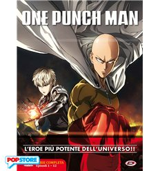 One-Punch Man Serie Completa Dvd - Episodi 01-12