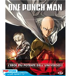 One-Punch Man Serie Completa Blu Ray - Episodi 01-12