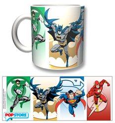 2Bnerd - Dc Comics Gadget - Justice League Tazza Eroes