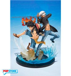 Bandai Figuarts Zero - One Piece Monkey D. Luffy & Trafalgar Law 5th Anniversary
