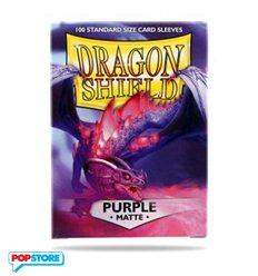 Dragon Shield - Matte Purple - 100 Bustine