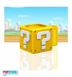 Nintendo Gadget - Super Mario Bros - Question Block Mug