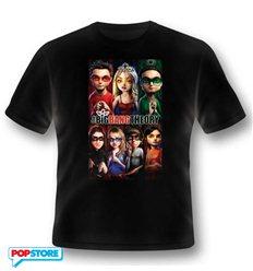 2Bnerd - The Big Bang Theory T-Shirt - The Big Bang Theory Superhero Xl