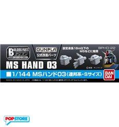 Bandai - Builders Parts Hd Ms Hand 03 1/144