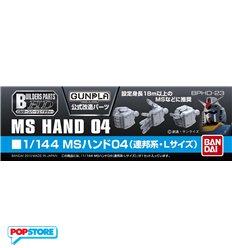 Bandai - Bbuilders Parts Hd Ms Hand 04 1/144