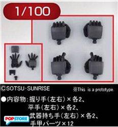 Bandai - Builders Parts Hd Ms Hand 02 Zeon 1/100