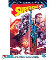 Dc Universe Rebirth - Superwoman 001
