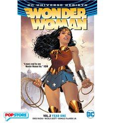 Dc Universe Rebirth - Wonder Woman 002