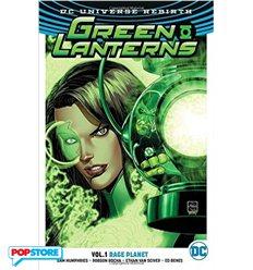 Dc Universe Rebirth - Green Lanterns Tp 001