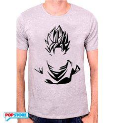 Cotton Division - Dragonball Z T-Shirt - Silhouette Sayan Xl