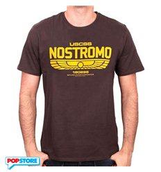Cotton Division - Alien T-Shirt - Nostromo Logo S