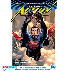 Dc Universe Rebirth - Superman Action Comics Tp 002